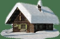 Winter-House-Snow-vinter-hus-snö