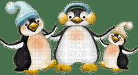 Winter penguins_hiver pingouins