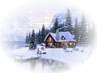 Kaz_Creations Paysage Scenery Winter