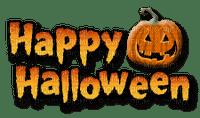 Kaz_Creations Happy Halloween Logo Text