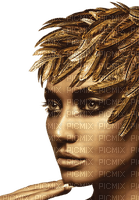 Woman Gold Leaf  - Bogusia