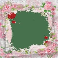 cadre fleur rose frame pink flowers