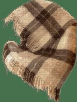 Couverture marron carreaux