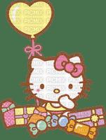 Hello kitty fête d'anniversaire ballon coeur bonbons cadeau Debutante