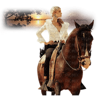 Kaz_Creations Woman Femme On Horse