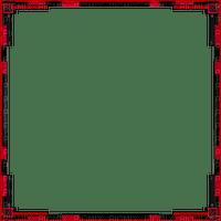 Black Red Frame