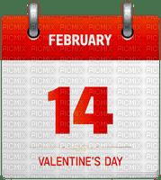 14.february calender deco valentine