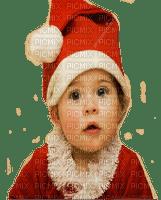baby girl santa enfant noel