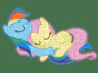 Raindow dash & Fluttershy sleeping