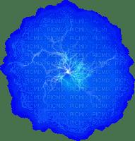 NUAGE électrique éclair bleu