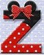 image encre lettre Z Minnie Disney edited by me