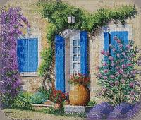 landscape, house, Provence