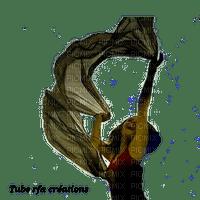rfa créations -  femme dans le vent