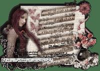 mujer musica by EstrellaCristal