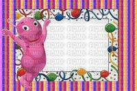 multicolore image encre bon anniversaire dessin rayures ballons violet rose  color effet  edited by me
