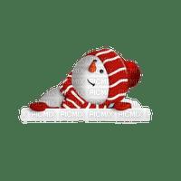 snowman winter hiver christmas noel tube deco red fun schneemann bonhomme de neige