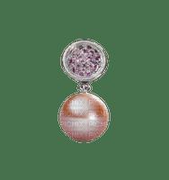 earring ohrring boucle diamond diamant jewel  tube deco vintage pearls