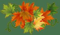 AUTUMN LEAVES border-- automne feuilles deco