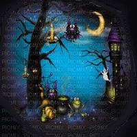 halloween bg  fond paysage