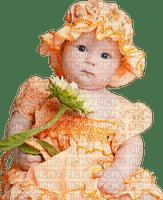 bebe e a flor