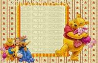 image encre anniversaire effet Pooh Eeyore Disney edited by me