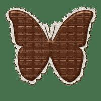 Mariposa en chocolate