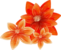 Kaz_Creations Flowers Fleurs Orange Flower