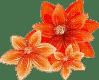 Kaz_Creations Flowers Fleurs Orange Flower