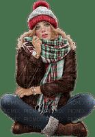 Woman. Winter. Leila