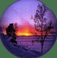 coucher du soleil paysage sunset