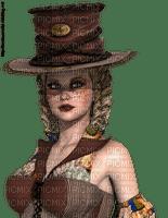 femme steampunk
