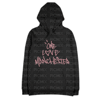 Kaz_Creations One Love  Manchester Hoodie