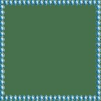 Deco Pearl Frame~Blue©Esme4eva
