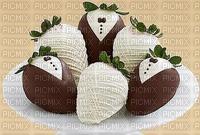 Fraises au chocolat décoré mariage fête