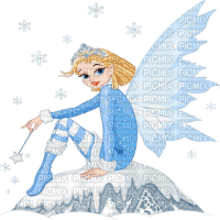 winter fairy elf