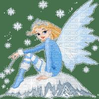 winter fairy elf