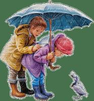 childs umbrella duck enfant pluie
