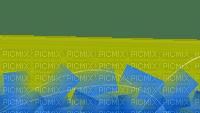 bleu jaune deco border