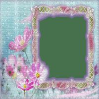 spring printemps flower fleur blossom fleurs blumen  tube frame cadre rahmen overlay fond background