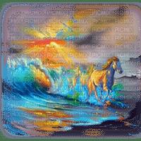 horses bg cheval