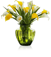 vase with yellow flowers, sunshine3