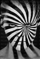 art face white black lines lignes visage edited by me
