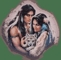 amerindian couple