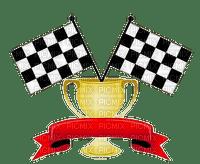 sport race trophy award flags
