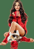 Women. Cat. Coffee. Leila
