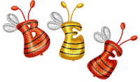 BEE TEXT deco