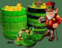 Leprechaun,deko,tube, GIF, animation, scrapbooking, jour de St Patrick,adam64