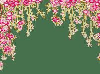 Plants.Fleurs-Flowers.Cadre.Frame.Pink.Deco.Spring.Printemps.Victoriabea