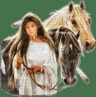 az indien cheval