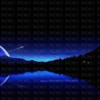 Black blue background